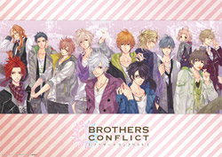 BROTHERS CONFLICT ミニクリアポスター(全2種)